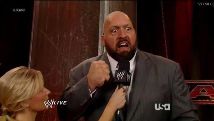 Big Show's face